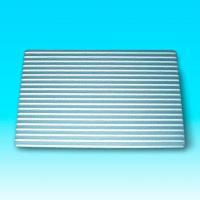 Chapa estriada aluminio anodizado