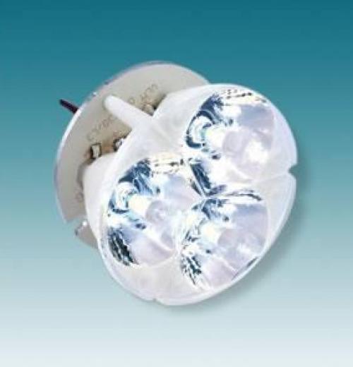 SPOT LED TRIO 4,5W 350MA 6GRAUS BRANCO FRIO
