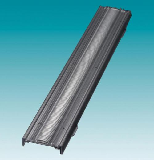 LENTE LINEAR  96° X 59° / COMP.285MM X LARG. 40MM X ALT. 9,5MM P/ENCAIXE