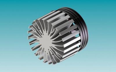 DISSIPADOR ATIVO PARA  COB LED DIAM.99MM X ALT.75MM 12 VDC
