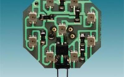 MODULO OCTAGONAL 9 LEDS AMARELO P/A PLAFONIER