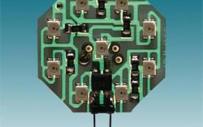 MODULO OCTAGONAL 9 LEDS VERDE P/A PLAFONIER