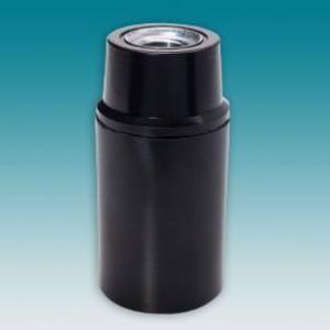 SOQUETE E14 BAQUELITE PRETO LISO C/ NIPLE MX10X1